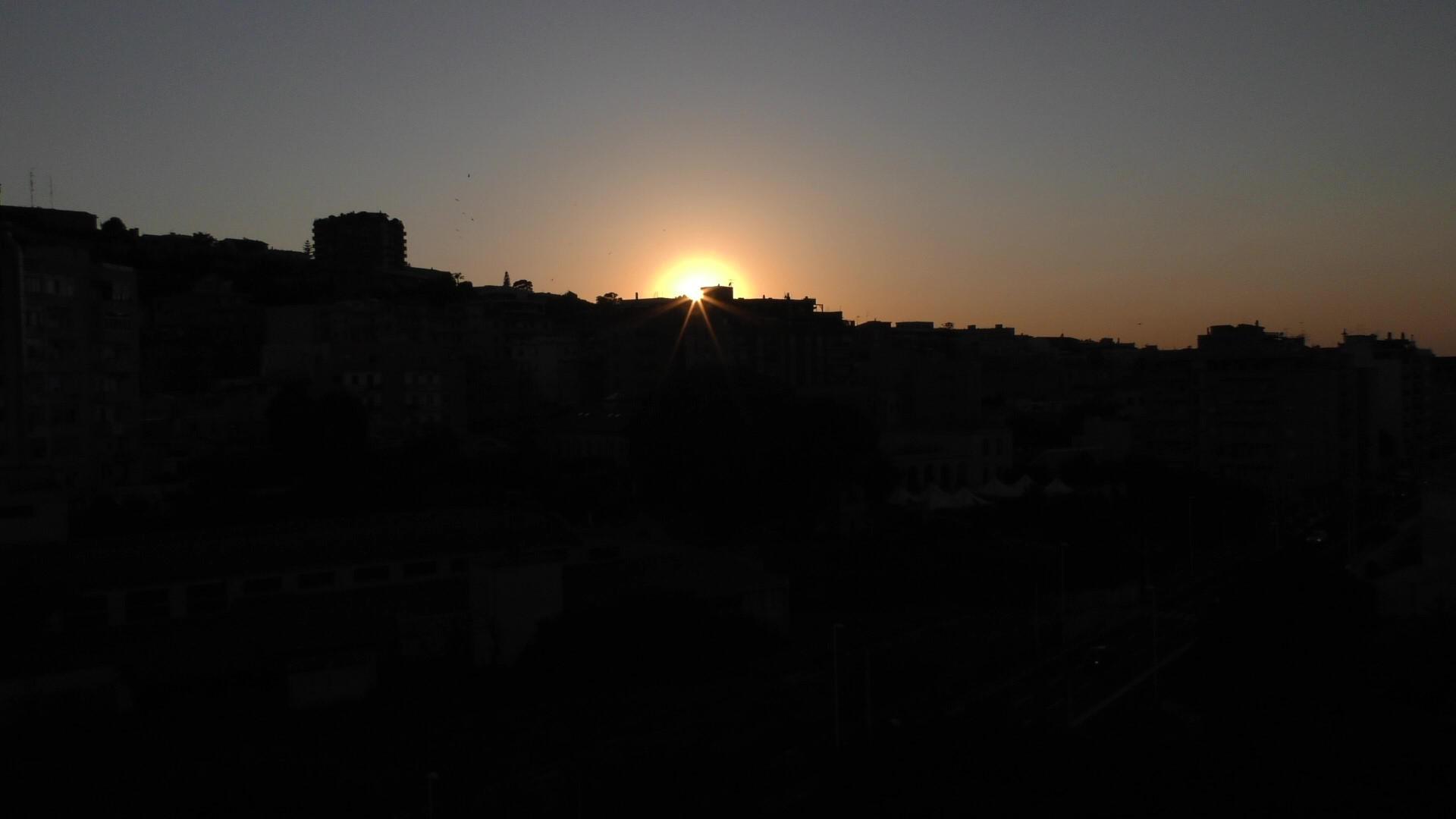 b&b A View On Cagliari tramonto