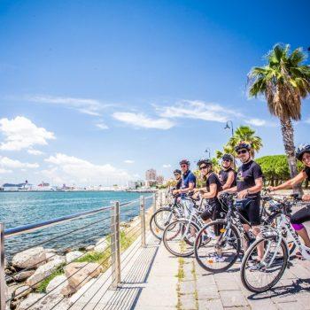 b&b A View on Cagliari tour bici elettrica