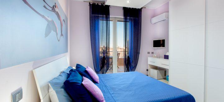 bnb a v iew on cagliari camera blu con terrazza