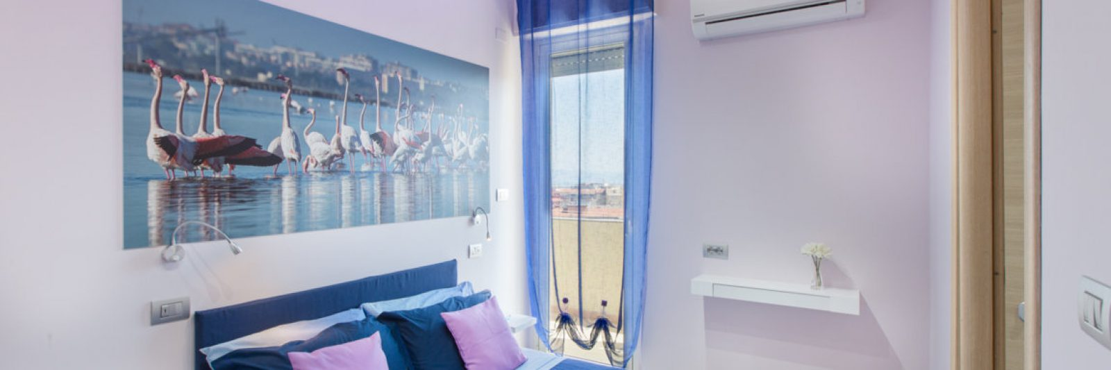 bed and breakfast Cagliari camera lilla